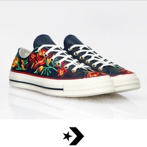 NWT Chuck 70 Parkway floral low top chuck Taylor 9